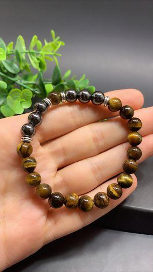 Natural Tiger Eyes Beads Bracelet for Sale in Tustin, CA