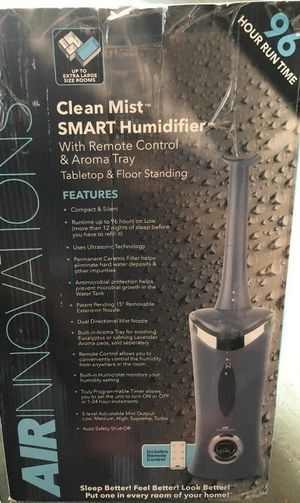 Clean Mist Digital Humidifier w/ Aroma for Sale in Pompano Beach, FL