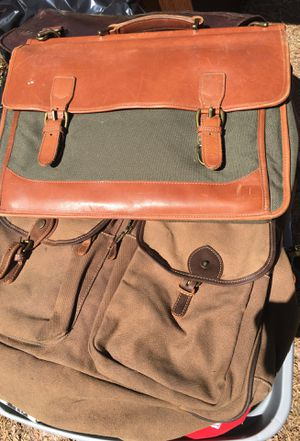 LL Bean Saddle Bags 2 Each Vintage with Shoulder Straps for Sale in Stone Mountain, GA