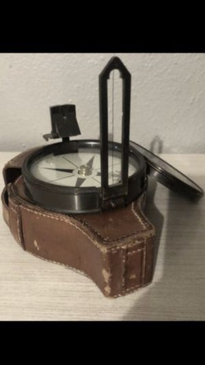 Antique Late 1800's Early 1900's Nautical/Surveyors Compass for Sale in Tacoma, WA