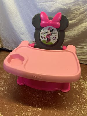 Minnie Mouse Booster Seat for Sale in Fort Lauderdale, FL