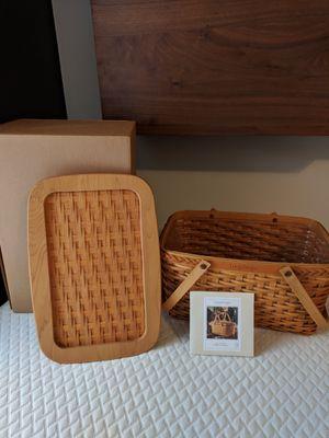 Longaberger founder basket for Sale in Utica, OH