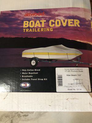 Pontoon boat cover for Sale in Waterford, WI
