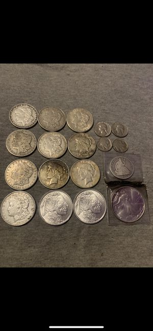 Silver coin lot. Make offer for Sale in Anna, IL