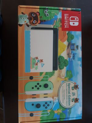NEW Animal Crossing Limited Edition Switch for Sale in Riverside, CA