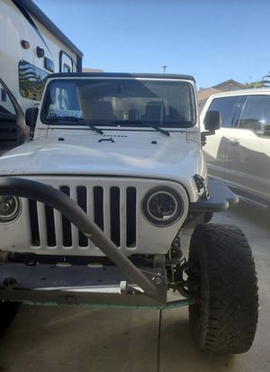 2006 Jeep Wrangler tj rubicon for Sale in Mather, CA