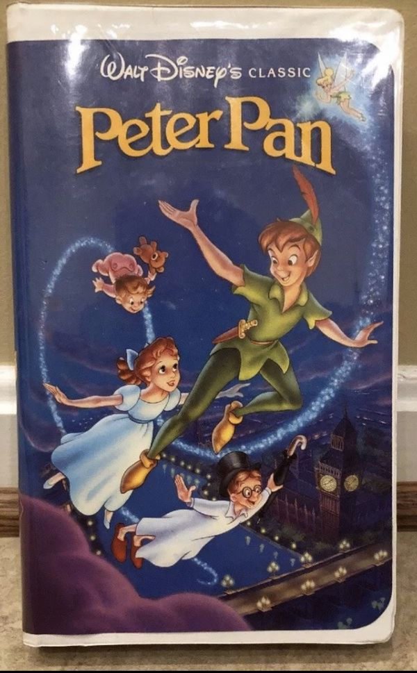Walt Disney Classic Peter Pan VHS