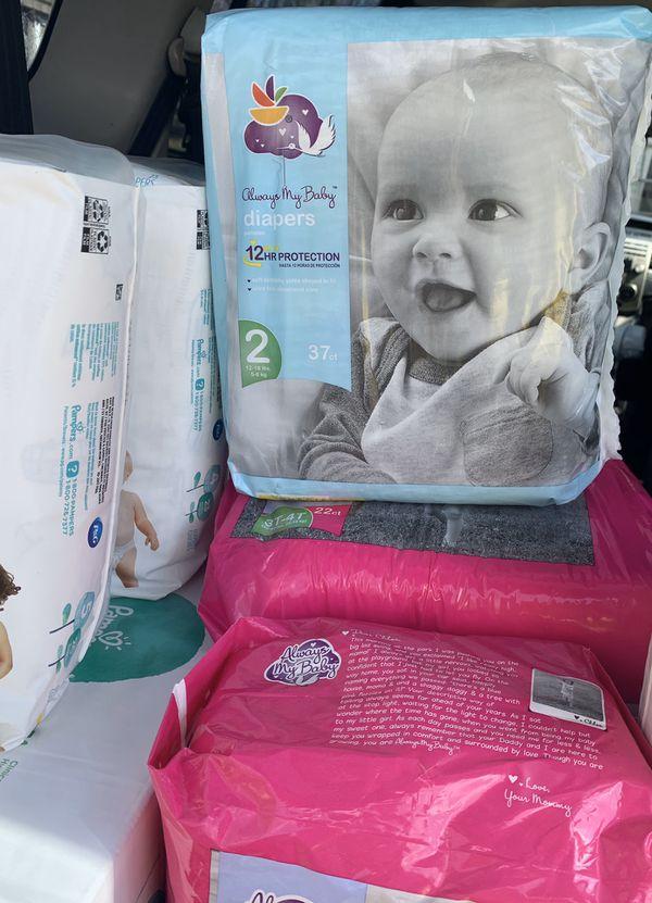 Cajas y paquetes nuevos de baby todo zize N—1-2-3T—4T -5