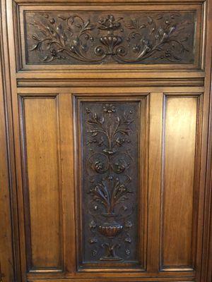 Antique Mahogany Armoire for Sale in Santa Clarita, CA