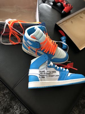 OFF - WHITE UNC AIR JORDAN 1 for Sale in Houston, TX