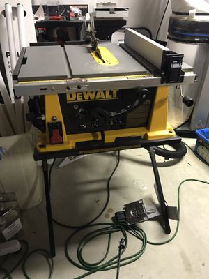 Dewalt table saw model DW744 for Sale in Woodbridge, VA