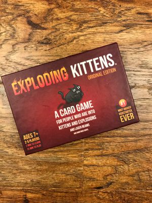 Fun Card game Exploding Kittens for Sale in Inglewood, CA