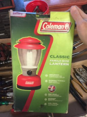 Coleman lantern for Sale in Milton, PA