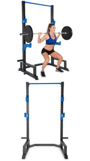 Brand New in Box Deluxe Half Power Cage Squat Rack for Sale in Rancho Cucamonga, CA