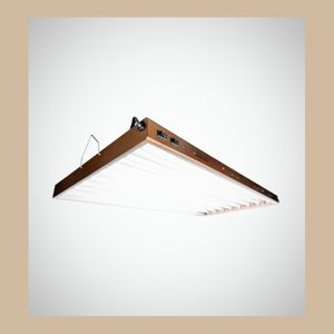 AGROBRIGHT 5 Tubes 4ft fluorescent Energy Efficiency hanging lights for Sale in Wenatchee, WA