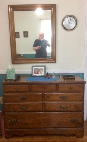 Chest and Mirror for Sale in Wall Township, NJ