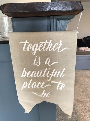 Canvas wedding signs for Sale in Warrenton, VA