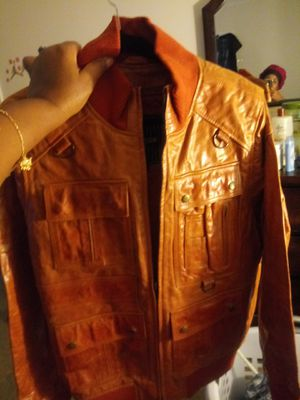 Brand New Men's Leather Jacket for Sale in Raleigh, NC
