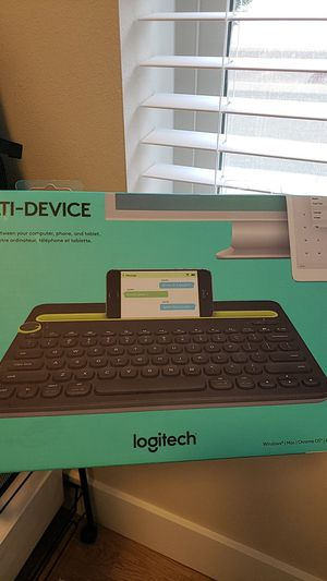 Bluetooth keyboard for iOS, Android l, Windows, Mac for Sale in Lynnwood, WA