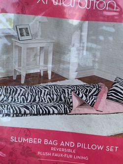 Zebra Sleeping Bag Set for Sale in El Cajon,  CA