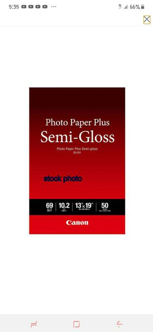 Photo Paper Plus for Sale in Wichita, KS