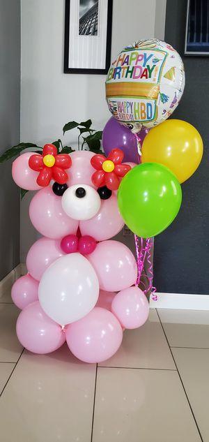 Teddy Bear Balloon Designs!! for Sale in Manteca, CA