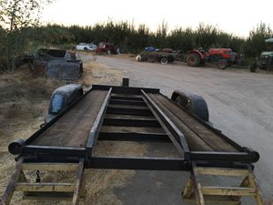 Custom built tractor trailer 21ft x 7ft for Sale in Reedley, CA
