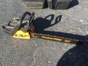 Poulan Pro 20 inch Gas Chainsaw PP4620AV for Sale in Davie, FL