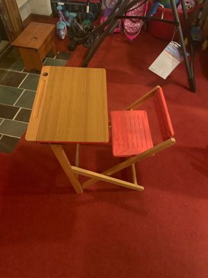 Folding school desk for Sale in Collegeville, PA