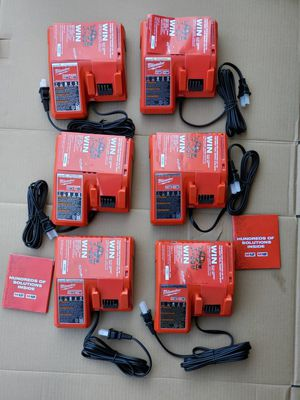 MILWAUKEE M18 M12 CHARGER $35 EACH for Sale in Los Angeles, CA
