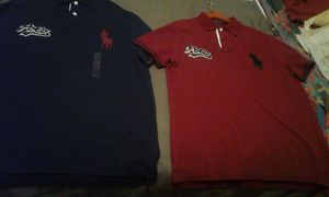 Brand new Ralph Lauren polos $100 for both for Sale in Los Angeles, CA