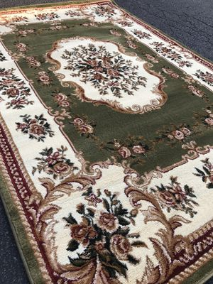 Brand new area rug size 8x11 nice green carpet for Sale in Fairfax Station, VA
