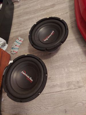 "210"" America bass 4 ohms for Sale in Compton, CA"