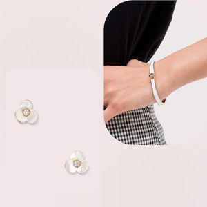 NWT; Kate Spade Disco Pansy Earrings & Bangle Bracelet 2pc Set for Sale in Camden, NJ