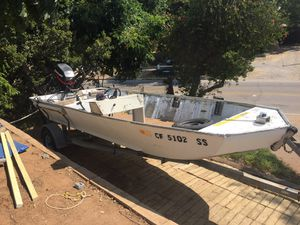 16' Bass boat w/40HP Mercury 4Stroke for Sale in Lakeside, CA