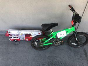 Free bike and big toy fire truck for Sale in San Bernardino, CA
