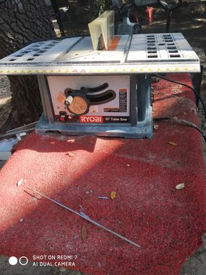 RYOBI TABLE SAW for Sale in Floresville, TX