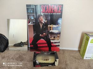 Scarface movie authentic wall pic & car for Sale in Lake Elsinore, CA