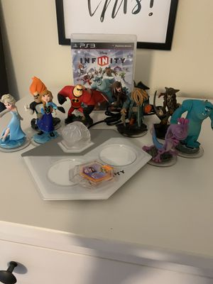 PS3 Disney Infinity Game plus Extras for Sale in Hollister, CA