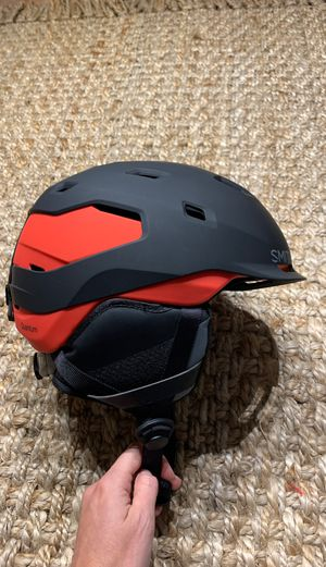 Smith Optics Quantum Mips Adult Ski Snowboard Snowmobile Helmet - Matte Black Rise Medium for Sale in Miami, FL