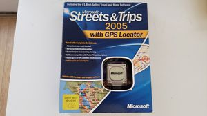 Microsoft Street & Trips 2005 with GPS Locator for Sale in GA, US