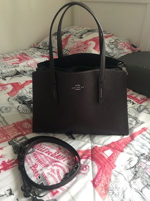 Authentic Coach Charlie Carryall purse for Sale in Westminster, CO