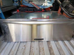Kitchen aid warming drawer for Sale in Manassas, VA