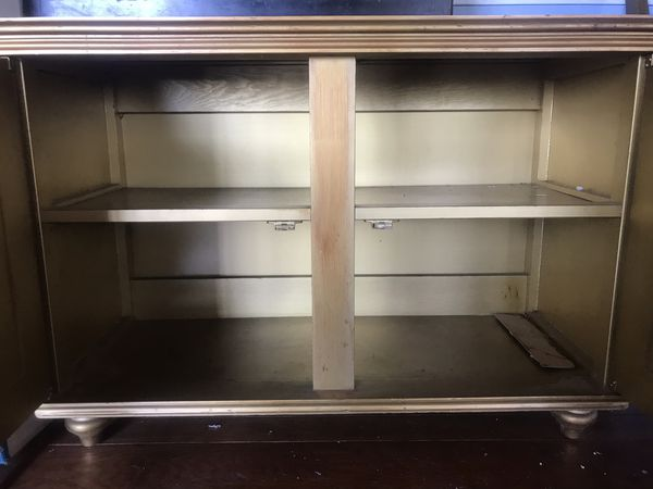 Small Two shelf cabinet.