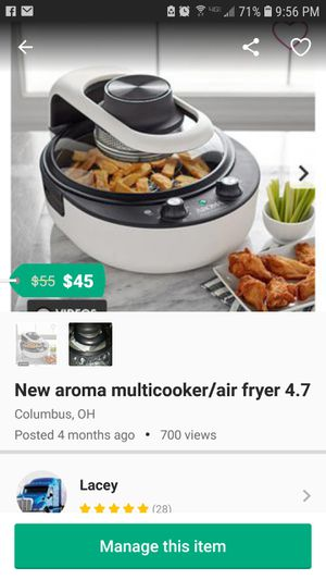 New airfry/ multicooker for Sale in Columbus, OH