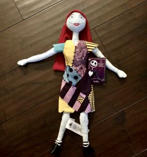 "Disney—Tim Burton, The Nightmare Before Christmas 22"" Sally Plush Doll (Brand New With Tags) for Sale in Corona, CA"