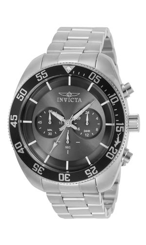 Invicta Men's 30798 Pro-Diver Chronograph Stainless Steel Charcoal Dial Watch for Sale in Kissimmee, FL