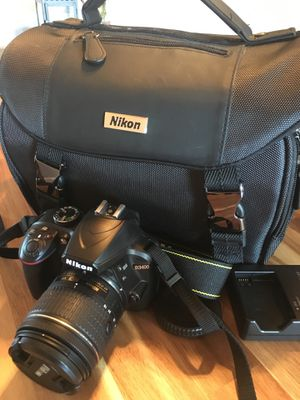 Nikon D3400 2LK Black w/ AF-P 18-55mm Lens for Sale in Denver, CO