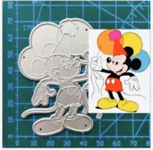 Happy Birthday Mickey Mouse Die Cut for Sale in Elizabethton, TN