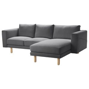 Ikea Norsborg Couch with Chaise - Finnista Gray for Sale in San Diego, CA